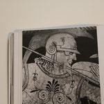 représentant des guerriers, 5e siècle av. J.-C.