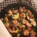 Salade de grelots rôtis aux amandes - Simple et Chic