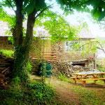 Gite de liou - Cévennes - La façade sud du gîte