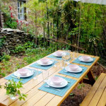 Gite de liou - Cévennes - La grande table pour manger dehors