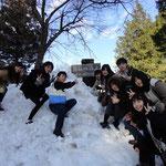 研修旅行で岐阜に行ってきました。みんな仲良しです^^