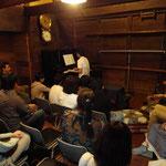 おとくら3周年コンサート。彦根市のmansiというアーティストさんに協力していただきました。