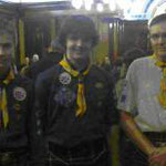 Milngavie Scouts achieved the Chief Scout Gold award