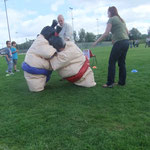 Sumo Wrestling at the Family Fun Day