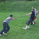 Tug O War at Auchenhowie Family Fun Day