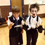 Lochiel Cubs 2012 - Harry Potter and Edward Scissorhands