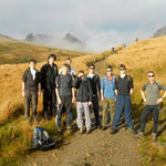 Fun at Ben Narnain (Arrochar Alps) - Nov 2011