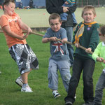 Tug O War - always a favourite activity with the scouts!