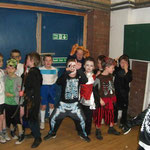 Beavers enjoy dressing up for their halloween party