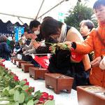 故久保山愛吉氏墓前祭-2013.3.1-