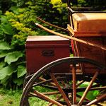 Die alte Kutsche wird immer noch gefahren