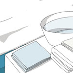 In guten Händen / Lehrbuch für Krankenpflege Wadenwickel Bild 1