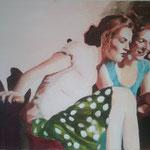 """""""helle Tage 4"""" 60 x 90 Akryl a. Lw 2012"""