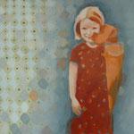 """""""Zu schnell vorbei 2"""" 60 x 100 cm Akryl a. Lw 2012"""