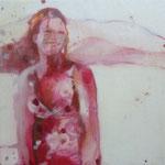 """""""sundowner1"""" Akryl,Tinte,Wachs a.LW 2010"""