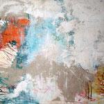 """2008 """"ich bin dann mal weg1"""" 60x80 cm Akryl auf Leinwand"""