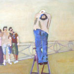 """schöne Aussichten 3"" 30 x 40 cm Akryl a. Lw 2011"