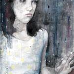 """2007 """"summer dreaming10"""" 80x60 cm Akryl auf Leinwand"""