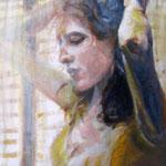 """2007 """"summer dreaming7"""" 15x15 cm Akryl auf Leinwand"""