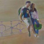 """schöne Aussichten 2"" 30 x 40 cm Akryl a. LW 2011"