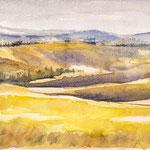 Tuscany landscape II 15 x 24
