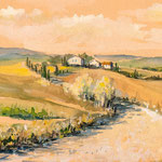 Tuscany landscape III 13 x 20