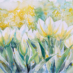 Tulips watercolors 30x40 Available