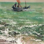 Boat III 14 x 24