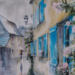 Azay-le-Rideau (France) 30x40