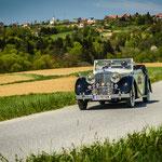 36 Jaguar MK lV 3,5 Litre 3 Pos DHC    /1948