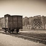 Death camp Oświęcim-Brzezinka (Auschwitz-Birkenau)