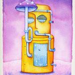 水槽式瞑想装置