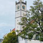 Blaserturm in Ravensburg (mit großem Wochenmarkt am Samstag)
