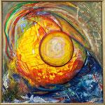 Marana / Öl auf Leinwand / 60 x 60 cm