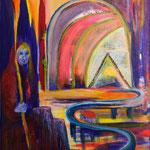 Die Wacht / Öl auf Leinwand / 50 x 70 cm