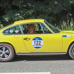 1975 - PORSCHE 911  2.7 TARGA 2,7-Liter-Sechszylinder-Boxer . 210 PS