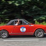 1969 - FIAT 124 SPIDER 2,0-Liter-Reihenvierzylinder . 90 PS