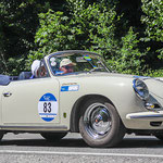 1963 - PORSCHE 356 BT6 2000 GS CARRERA 2  2,0-Liter-Vierzylinder-Boxer . 130 PS