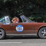 1970 - PORSCHE 911 S TARGA 2,2-Liter-Sechszylinder-Boxer . 180 PS