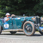 1936 - BENTLEY 4,25 L DERBY SPECIAL 4,25-Liter-Reihensechszylinder . 120 PS