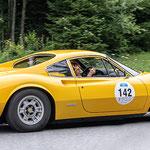 Mini Cooper (??) 1967 - Steht so auf der Teilnehmerliste, aber das sehe sogar ich als Laie, dass dies kein Mini ist.