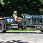 1929 - BENTLEY LE MANS TOURER VAN DEN PLAS 4,5-Liter-Reihenvierzylinder . 160 PS