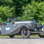 1934 - BENTLEY 3 1/2 VAN DEN PLAS 3,5-Liter-Reihensechszylinder . 115 PS