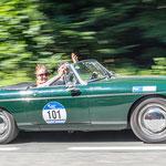 1969 - MG C CABRIO ROADSTER 3,0-Liter-Reihenssechszylinder . 145 PS