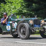 1935 - ALVIS FIREBIRD SPECIAL 1,8-Liter-Reihenvierzylinder . 82 PS