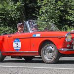 1962 - FIAT OSCA CABRIO 1,6-Liter-Vierzylinder . 90 PS