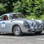 1959 - PORSCHE 356 GT CARRERA COUPE 1,6-Liter-Vierzylinder-Boxer . 115 PS