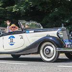 1936 - MERCEDES-BENZ 170 V CABRIO 1,7-Liter-Reihenvierzylinder . 38 PS