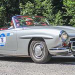 1962 - MERCEDES-BENZ 190 SL 1,9-Liter-Reihenvierzylinder . 105 PS