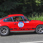 1972 - PORSCHE 911 RS 2.7 CARRERA 2,7-Liter-Sechszylinder-Boxer . 210 PS